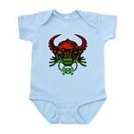 kuuma skull 4 Infant Bodysuit