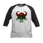 kuuma skull 4 Kids Baseball Jersey