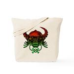 kuuma skull 4 Tote Bag
