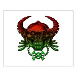 kuuma skull 4 Small Poster