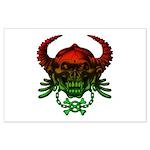 kuuma skull 4 Large Poster