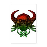 kuuma skull 4 Mini Poster Print