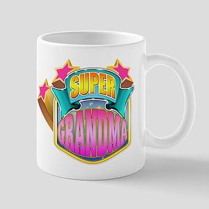 Pink Super Grandma Mug