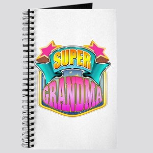 Pink Super Grandma Journal