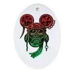 kuuma skull 5 Ornament (Oval)