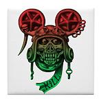 kuuma skull 5 Tile Coaster