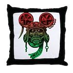 kuuma skull 5 Throw Pillow