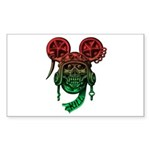 kuuma skull 5 Sticker (Rectangle 10 pk)