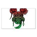 kuuma skull 5 Sticker (Rectangle 50 pk)