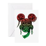 kuuma skull 5 Greeting Cards (Pk of 10)