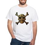 kuuma skull 7 White T-Shirt