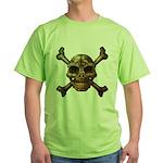 kuuma skull 7 Green T-Shirt
