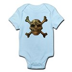 kuuma skull 7 Infant Bodysuit