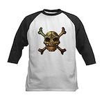 kuuma skull 7 Kids Baseball Jersey