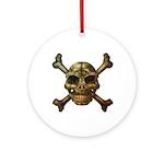 kuuma skull 7 Ornament (Round)