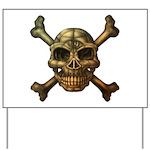 kuuma skull 7 Yard Sign