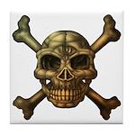 kuuma skull 7 Tile Coaster
