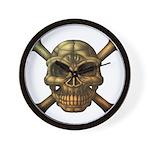 kuuma skull 7 Wall Clock
