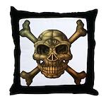 kuuma skull 7 Throw Pillow