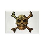 kuuma skull 7 Rectangle Magnet (100 pack)