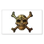 kuuma skull 7 Sticker (Rectangle 10 pk)