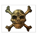kuuma skull 7 Small Poster