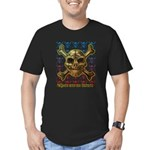 kuuma skull 8 Men's Fitted T-Shirt (dark)