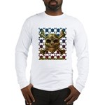 kuuma skull 8 Long Sleeve T-Shirt