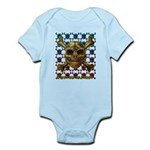 kuuma skull 8 Infant Bodysuit