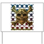 kuuma skull 8 Yard Sign
