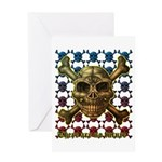kuuma skull 8 Greeting Card