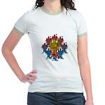 kuuma grimreaper Jr. Ringer T-Shirt