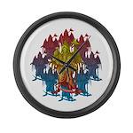 kuuma grimreaper Large Wall Clock