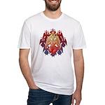 kuuma baphomet Fitted T-Shirt