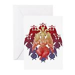 kuuma baphomet Greeting Cards (Pk of 10)