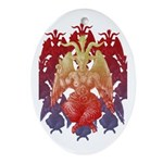 kuuma baphomet Ornament (Oval)