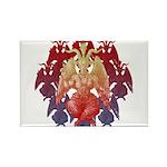 kuuma baphomet Rectangle Magnet (100 pack)