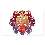 kuuma baphomet Sticker (Rectangle)