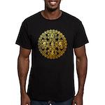 kuumaspiritual Men's Fitted T-Shirt (dark)