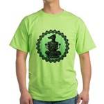 dog Green T-Shirt