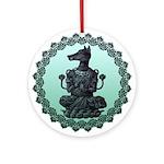 dog Ornament (Round)