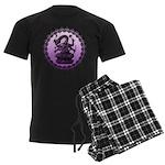 sbake Men's Dark Pajamas