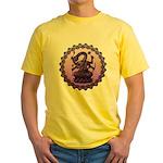 sbake Yellow T-Shirt