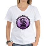 sbake Women's V-Neck T-Shirt