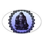 single eye Sticker (Oval 10 pk)