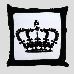 """Crown"" Throw Pillow"