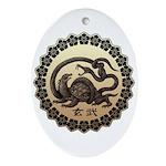 genbu Ornament (Oval)