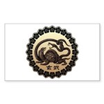 genbu Sticker (Rectangle)