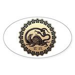 genbu Sticker (Oval 50 pk)