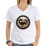 sujaku Women's V-Neck T-Shirt